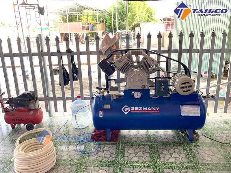 Máy nén khí rửa xe Gezmany GZ300 công suất 3 HP