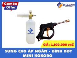 COMBO BINH BOT TUYET MINI - SUNG CAO AP